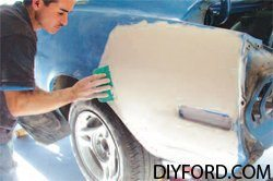 [Mustang Paint Prep and Body Filler – How to Restore Your Mustang] 3