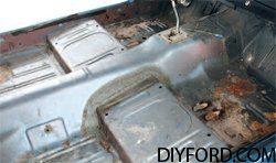 [Mustang Interior Guide - Carpet Replacement 1964 1/2 -1973] 1