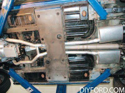 [Exhaust System Guide for Restoring Your Mustang]09