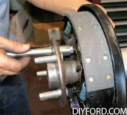 [Mustangs - How to Disassmble the the Rear Axle and Rebuild Assembly] 10