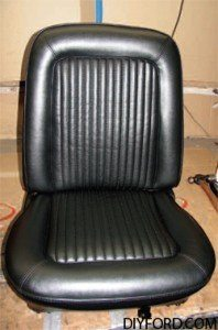 [Mustang Restoration Seat Reupholstery Guide - Step by Step] 39