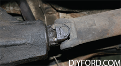 Ford Axle Removal: Complete Step by Step Instructions 005