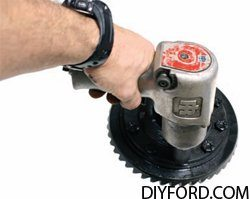 Ford 9 Inch Axle Disassembly: Third Member and Pinion Cartridge Removal 016