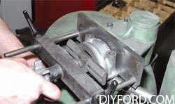 [Rebuilding the Small-Block Ford: Machining the Block Step by Step]05