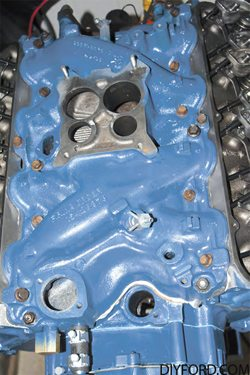 How to Install the Intake Manifold in Your Ford Big-Block Ford Engine Rebuild 06
