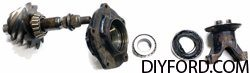 Ford 9 Inch Axle Disassembly: Third Member and Pinion Cartridge Removal 08