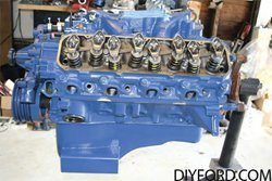 How to Install the Intake Manifold in Your Ford Big-Block Ford Engine Rebuild 09