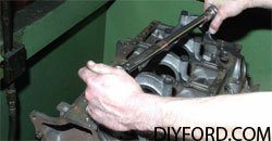 [Rebuilding the Small-Block Ford: Machining the Block Step by Step]09