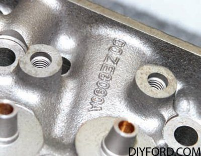 351 Cleveland Cylinder Heads Guide: Factory Iron Heads 10