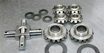 Ford 9 Inch Axle: Open Differential Assembly Guide