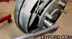 How to Disassemble Ford 9 Inch Axles: Brake Drum and Axle Shafts 1