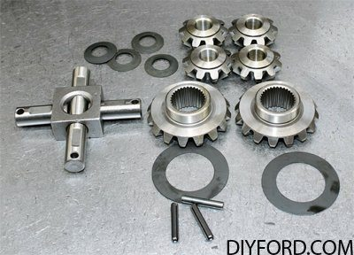 Ford 9 Inch Axle: Open Differential Assembly Guide 01