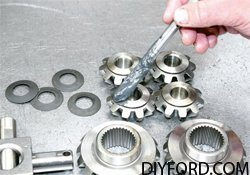 Ford 9 Inch Axle: Open Differential Assembly Guide 1