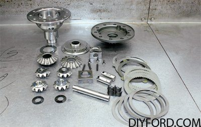 How to Assemble Ford 9 Inch Traction-Lok Differentials 01