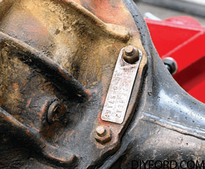 Ford Axle History and Identification: Ford Differentials 11