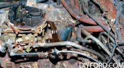 Rebuild Your Big-Block Ford - Remove Engine Step by Step 12
