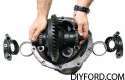 Ford 9 Inch Axle Disassembly: Third Member and Pinion Cartridge Removal 13