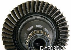 Ford 9 Inch Axle Disassembly: Third Member and Pinion Cartridge Removal 14