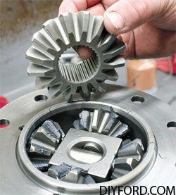 Ford 9 Inch Axle: Open Differential Assembly Guide 19