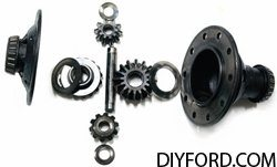 Ford 9 Inch Axle Disassembly: Third Member and Pinion Cartridge Removal 20