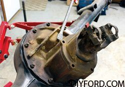 Ford 9 Inch Axle Disassembly: Third Member and Pinion Cartridge Removal 2