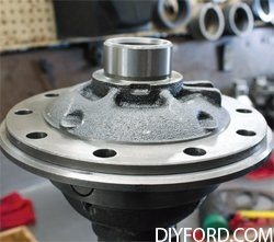 Ford 9 Inch Axle: Open Differential Assembly Guide 22