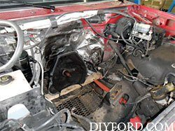 Ford Power Stroke 7.3L Engine Removal and Disassembly e01