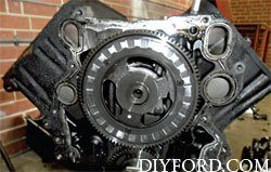 Ford Power Stroke 7.3L Engine Removal and Disassembly o10