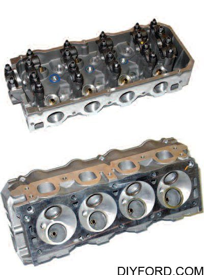 Cylinder Heads and Valvetrain Interchange for Big-Block Fords 14