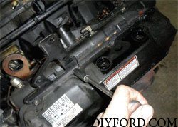 Ford Power Stroke 7.3L Engine Removal and Disassembly h1