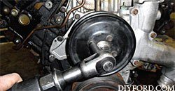 Ford Power Stroke 7.3L Engine Removal and Disassembly j1
