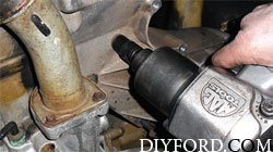 Ford Power Stroke 7.3L Engine Removal and Disassembly b18