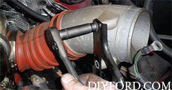 Ford Power Stroke 7.3L Engine Removal and Disassembly c2