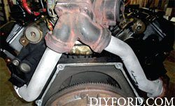 Ford Power Stroke 7.3L Engine Removal and Disassembly d2