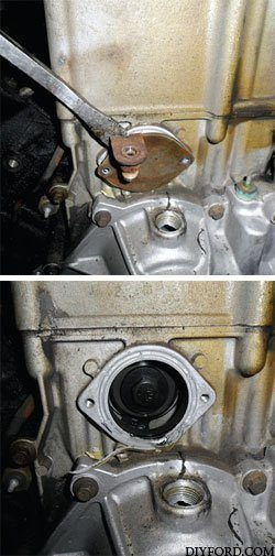 Ford Power Stroke 7.3L Engine Removal and Disassembly k2