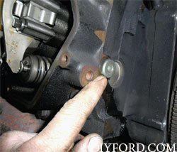 Ford Power Stroke 7.3L Engine Removal and Disassembly h3