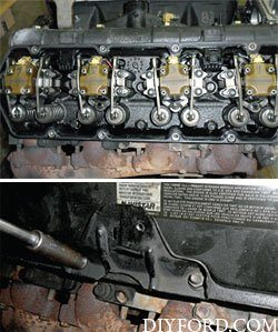 Ford Power Stroke 7.3L Engine Removal and Disassembly l3