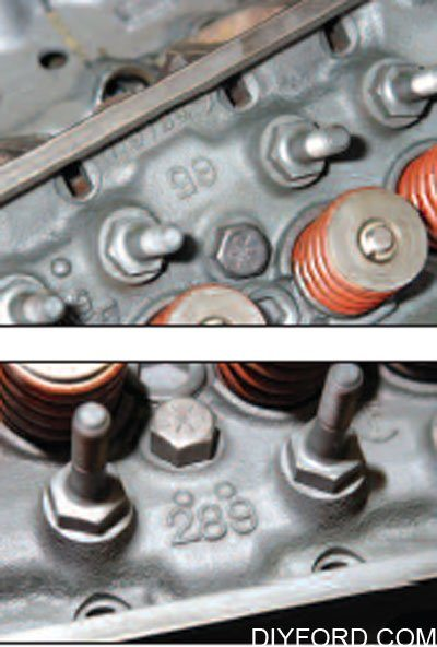 Ford Cylinder Heads and Valvetrain Interchange: Small-Block 3