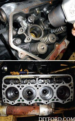Ford Power Stroke 7.3L Engine Removal and Disassembly l6