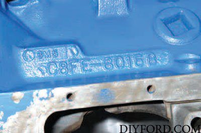 Ford Small-Block Engine Interchange Guide: Cylinder Block 6
