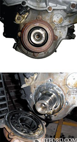 Ford Power Stroke 7.3L Engine Removal and Disassembly o7