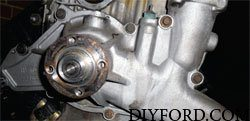 Ford Power Stroke 7.3L Engine Removal and Disassembly o9