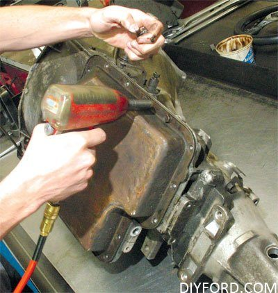 How to Start a Ford Transmission Rebuild Project: C4 and C6 12
