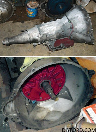 How to Build a Ford C6 Select Shift Transmission: Step by Step 4