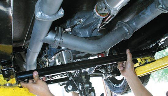 AOD conversion kits aren't always available for all Ford applications. Some AOD swaps involve custom crossmem-ber fabrication. Fabrication shops and hot rod shops are good sources for custom AOD and AODE/4R70W cross-members. If you can provide the dimensions, most shops can fabricate the crossmember you need.