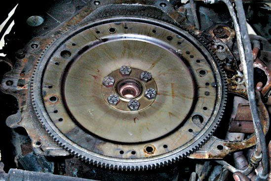 This is the 157-tooth flexplate for the C4 transmission with a 28-ounce offset balance. You replace it with the 164-tooth flexplate for the AOD/AODE/4R70W, which is also a 28-ounce offset balanced. Note the type of engine you have also determines the flexplate type. Small-block Ford V-8s, which are externally balanced, are either 28- or 50-ounce offset balanced. Late-model 5.0L engines from 1982-up are 50-ounce. Earlier 289- and 302-ci small-blocks prior to 1982 are 28-ounce.