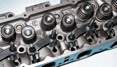 """The poly-angle-valve 351C cylinder head is legendary for its performance potential. If you can find the optimum combination of 351C-2V ports and 351C-4V chambers in an Australian Cleveland head, it's a great off-the-shelf cylinder head. Be advised: The Aussie Cleveland head is scarce and expensive. This is a North American 351C-4V head cast at the Cleveland foundry with a """"CF"""" logo."""