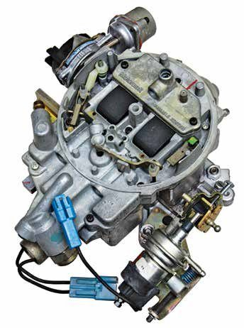 """The Motorcraft """"VV"""" or Variable Venturi carburetor first introduced in 1977 was conceived to meet both tougher federal and California emissions standards. It was introduced on the 2.8L V-6 and ultimately wound up on the small-block Ford."""