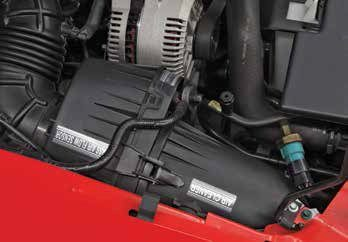 With the redesigned 1994–1995 Mustang GT came a new air cleaner assembly with the mass-air sensor incorporated into the air cleaner.