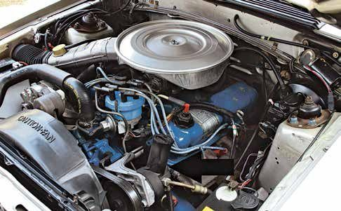 In mid-1978, Ford transitioned to a new lightweight aluminum power steering pump, which was first used on 1978 Fords. It can be fitted with a single-groove V-belt pulley or a serpentine belt drive pulley.